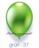Deko-Luftballons, Metallicfarben, Grün, 28-30 cm, 100 Stück