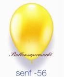 Deko-Luftballons, Metallicfarben, Senf, 28-30 cm, 25 Stück