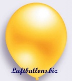 Deko-Luftballons, Metallicfarben, Gelb, 90/100 cm, 100 Stück, Serie 2
