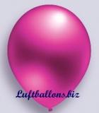 Deko-Luftballons, Metallicfarben, Pink, 75/85 cm, 100 Stück, Serie 2