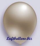 Deko-Luftballons, Metallicfarben, Silber, 90/100 cm, 100 Stück, Serie 2
