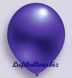Deko-Luftballons, Metallicfarben, Violett, 75/85 cm, 100 Stück, Serie 2