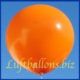 Großer Luftballon, Rund, 48-51 cm, Farbe Orange