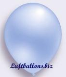 Deko-Luftballons, Perlmuttfarben, Blau, 75/85 cm, 100 Stück, Serie 2