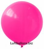 Riesenballon, Riesen-Luftballon, Rosa, 120 cm