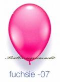 Deko-Luftballons, Standardfarben, Fuchsie, 28-30 cm, 25 Stück