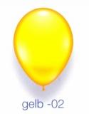 Deko-Luftballons, Standardfarben, Gelb, 28-30 cm, 25 Stück