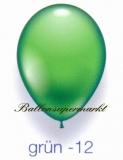 Deko-Luftballons, Standardfarben, Grün, 28-30 cm, 25 Stück