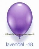 Deko-Luftballons, Standardfarben, Lavendel, 28-30 cm, 25 Stück