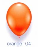 Deko-Luftballons, Standardfarben, Orange, 28-30 cm, 25 Stück