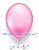Deko-Luftballons, Standardfarben, Pink, 28-30 cm, 25 Stück