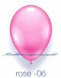 Deko-Luftballons, Standardfarben, Rosé, 28-30 cm, 25 Stück