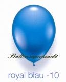 Deko-Luftballons, Standardfarben, Royal Blau, 28-30 cm, 25 Stück