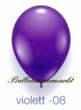 Deko-Luftballons, Standardfarben, Violett, 28-30 cm, 25 Stück