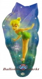 Musikballon, Luftballon mit Musikmodul,  Tinkerbell Happy Birthday
