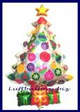 Luftballon Weihnachten, Weihnachtsbaum Prismatik