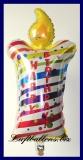 Happy Birthday Geburtstagskerze, Folien-Luftballon mit Helium zum Geburtstag