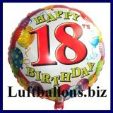 Luftballon Balloons Birthday, Geburtstag 18