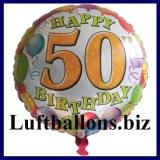Luftballon Balloons Birthday, Geburtstag 50