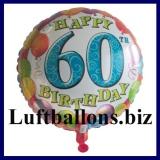 Luftballon Balloons Birthday, Geburtstag 60