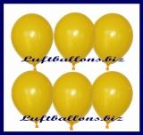 "Luftballons, Gelb, Metallic, 12"", 30 cm, 100 Stück"