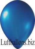 Luftballons Metallic, Dunkelblau, 100 Stück, 27 - 30 cm
