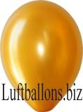 Luftballons Metallic, Gold, 10 Stück, 30 cm