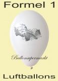 Luftballons Formel-1, 10 Stück, bunte Ballons aus Latex