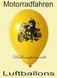 Luftballons mit Motorrädern, 10 Stück, bunte Ballons aus Latex