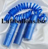 Luftschlangen Blau, 1 Rolle