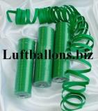 Luftschlangen Grün, 1 Rolle
