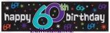 Geburtstag-Dekoration, Riesen-Banner, 60. Geburtstag