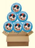 Micky Maus Luftballons mit Helium, Kindergeburtstag Geschenke, 6 Stück