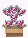 Micky und Mini Maus Holo Luftballons mit Helium, Kindergeburtstag Geschenke, 6 Stück