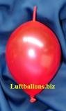 Mini-Girlanden-Luftballons, Rot, Metallic, 15 cm, 100 Stück