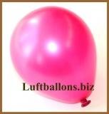 Mini-Luftballons, Metallicfarben, Fuchsia, 50 Stück