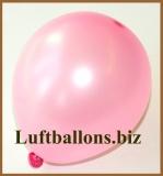 Mini-Luftballons, Metallicfarben, Rosa, 50 Stück