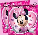 Servietten Minni Maus, Minnie Mouse Partyservietten