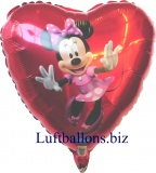 Minnie Mouse Dancing Luftballon