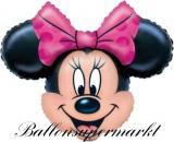 Luftballon Minnie Mouse, Shape, Kindergeburtstag u. Geschenk