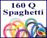 Modellierballons, 160Q, 2,5 x 150 cm, Spaghetti, 100 Stück