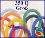 Modellierballons, 350Q, 7,5 x 130 cm, Groß, 100 Stück