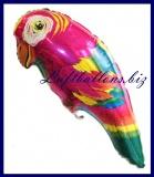 Papagei Luftballon zur Hawaii-Party-Dekoration