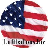 USA Party- und Festdekoration, Partyteller