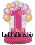 Partydekoration zum 1. Geburtstag, Tischständer, Zahl 1