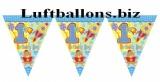 Partydekoration zum 1. Geburtstag, Wimpelkette, 1st Birthday Boy