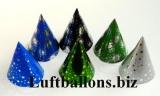 Party und Fest Dekoration, Partyhüte, Sternchen und Feuerwerk