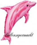 Delfin Luftballon, Pink Dolphin, Shape, Kindergeburtstag u. Geschenk