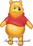 Luftballon Winnie the Pooh, Pu Bär, Big as Life, Shape, Kindergeburtstag u. Geschenk