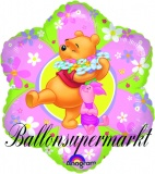 Winnie Pooh Luftballon, Friendly Flower, 45 cm